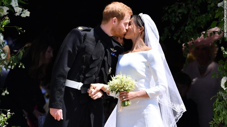 Prince Harry, Meghan Markle tie the knot in a star-studded ceremony