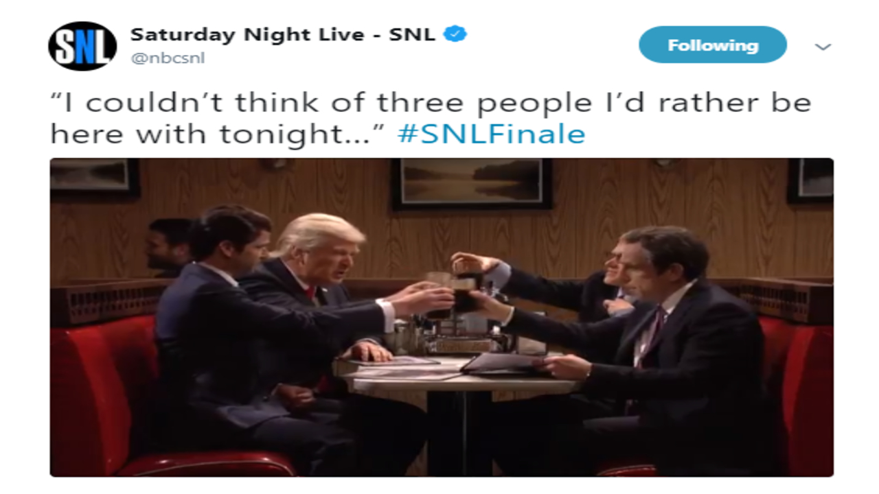 """'Saturday Night Live"""" ended their 43rd season by mocking Donald Trump"""