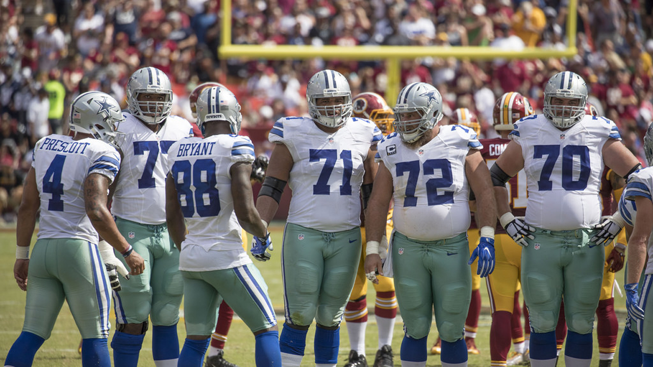 Can the Dallas Cowboys improve their offensive line in 2018