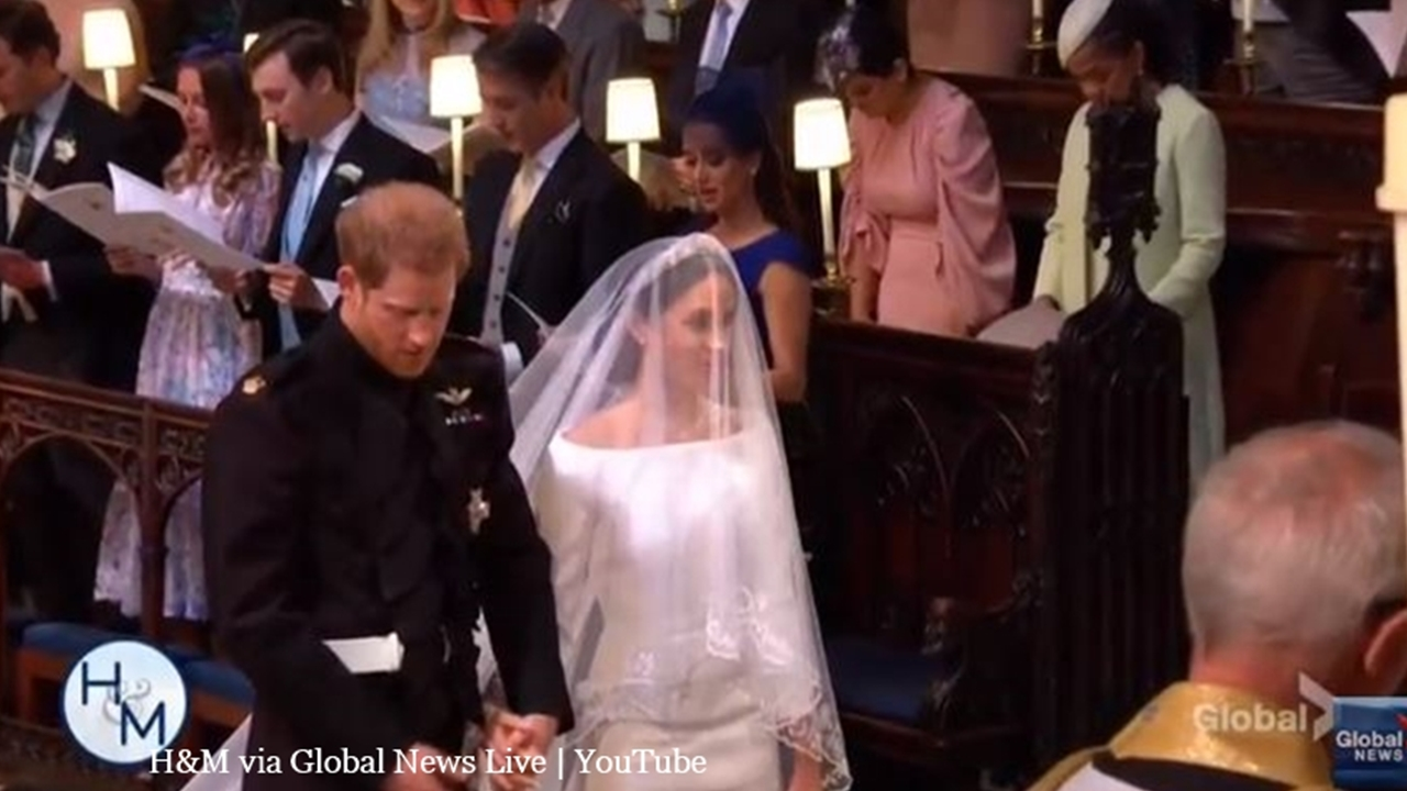 Royal Wedding general public guests allegedly sell gift items