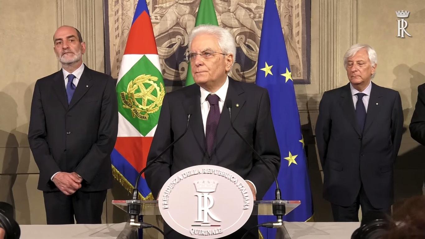 La decisione di Mattarella: l'Italia è divisa