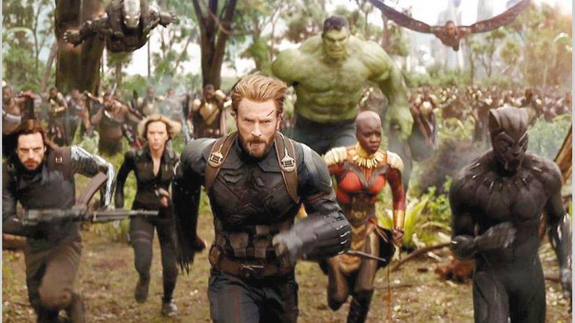 Avengers: Infinity War puede alcanzar los 2 mil millones de dólares esta semana