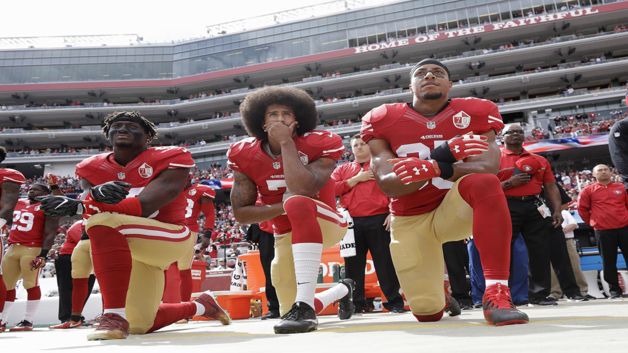 The history of the NFL and the National Anthem