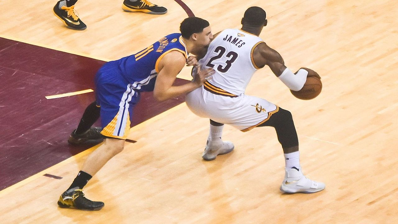 NBA Finals Game 1 features Warriors vs. Cavs with a heavy favorite to win
