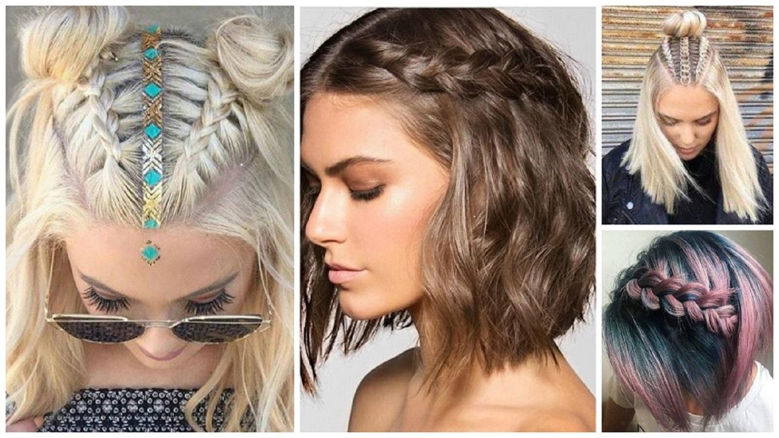 Сharming peinados de moda Colección de cortes de pelo estilo - VIDEO: Las trenzas un peinado que no pasa de moda