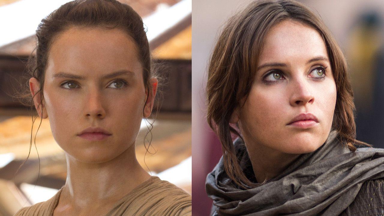 ¿Qué películas de Star Wars le dan a las mujeres más tiempo de pantalla?