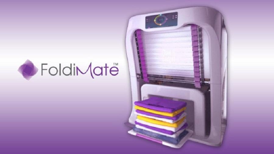 FoldiMate: la innovación futurista que dobla, plancha y perfuma la ropa
