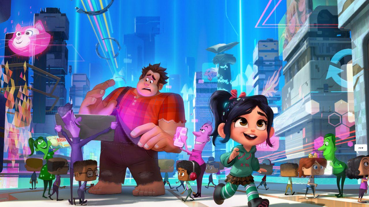 El tráiler 'Wreck-It Ralph 2' muestra el universo cinemático de Disney