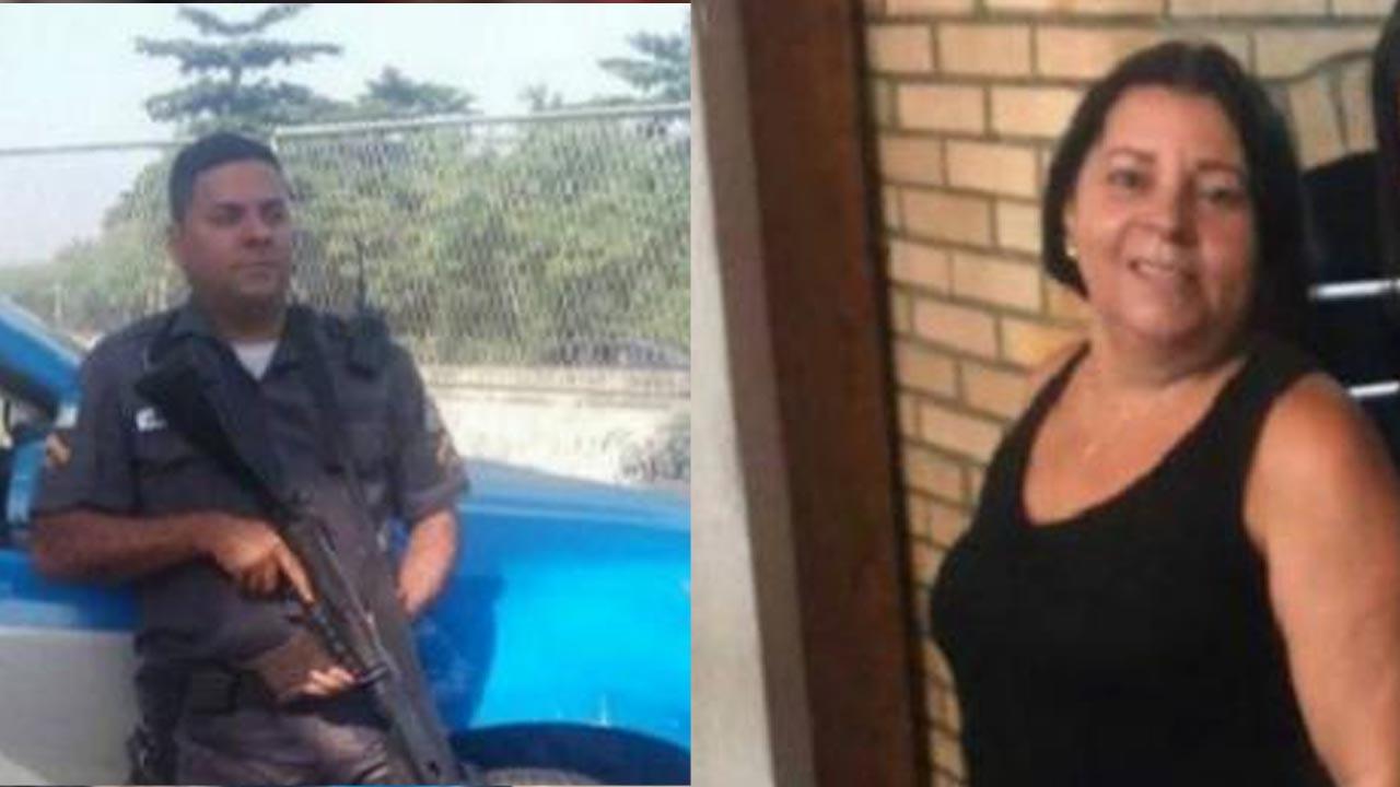 RIO DE JANEIRO / Comoção marca velório de mãe e filho PM mortos, vídeo