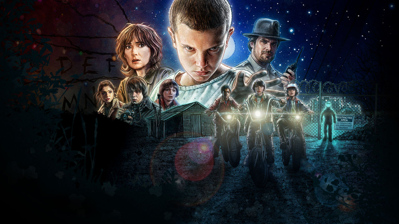 Netflix y 'Stranger Things' se asocian para sacar libros de la serie