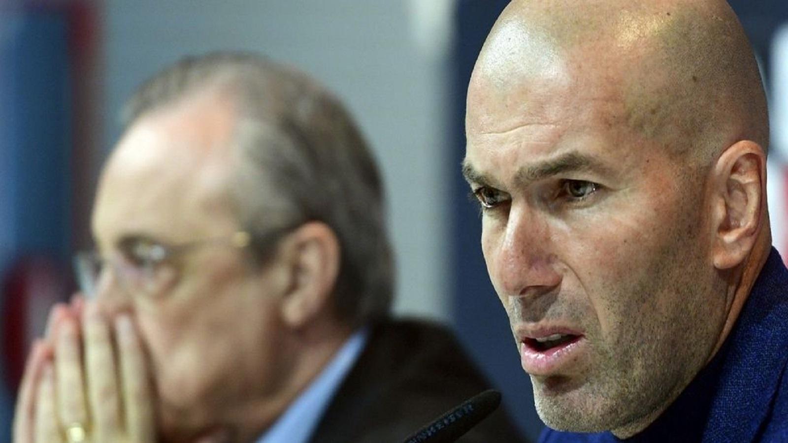 VIDEO: The Sun revela presunta pelea entre Zidane y Florentino Pérez
