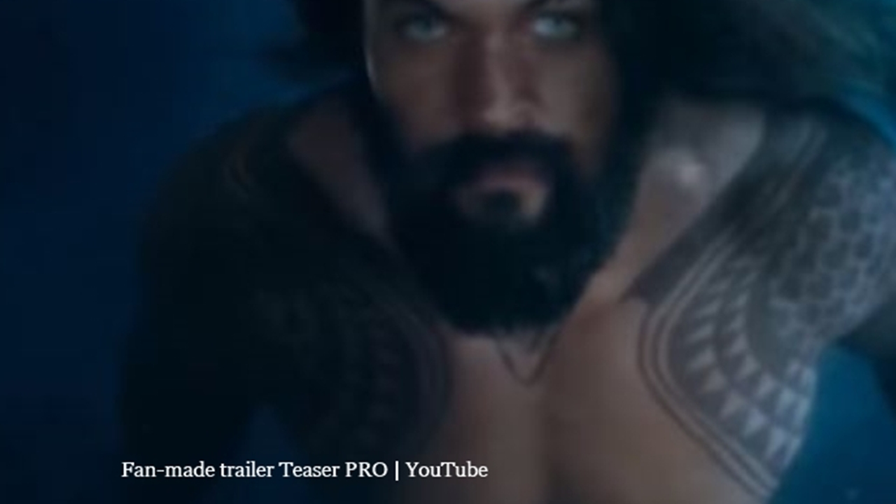'Aquaman' trailer was shown to exclusive audience at the CineEurope 2018 event
