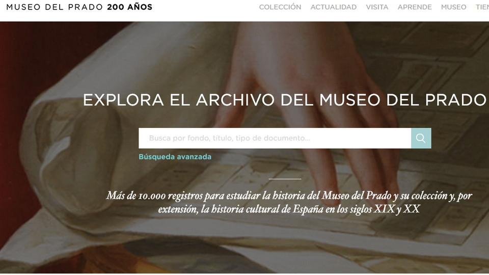 El Museo del Prado abre al público su gran archivo digital