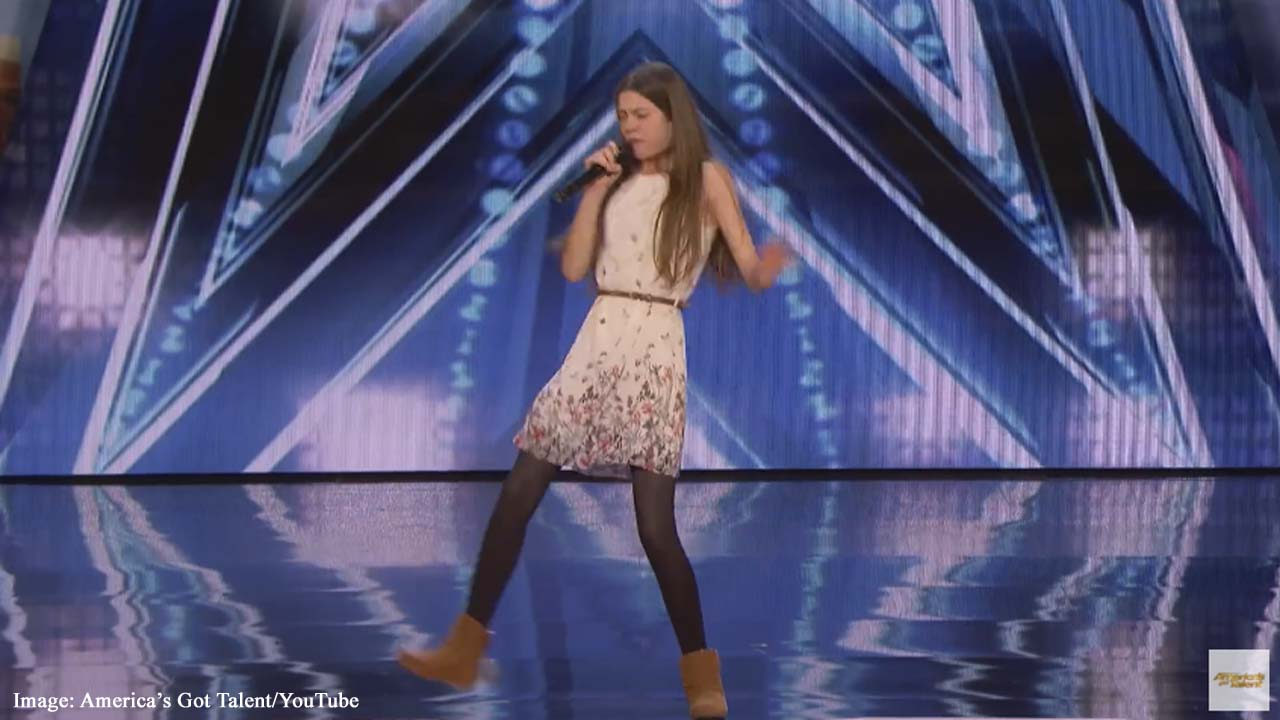 'America's Got Talent' judges blown away by British 13-year-old