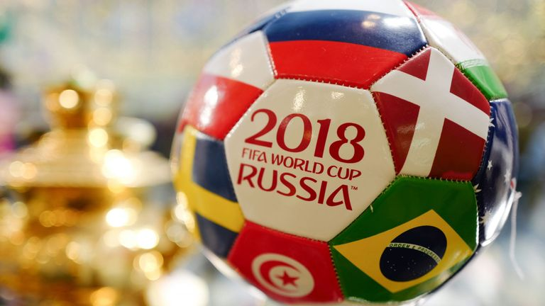 First game of 2018 World Cup won by Russia against Saudi Arabia 5-0