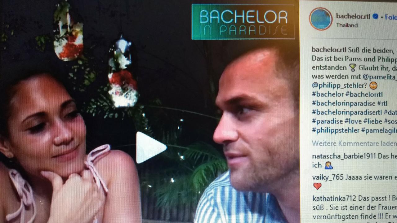 Bachelor Pamela Und Philipp Wieder Vereint