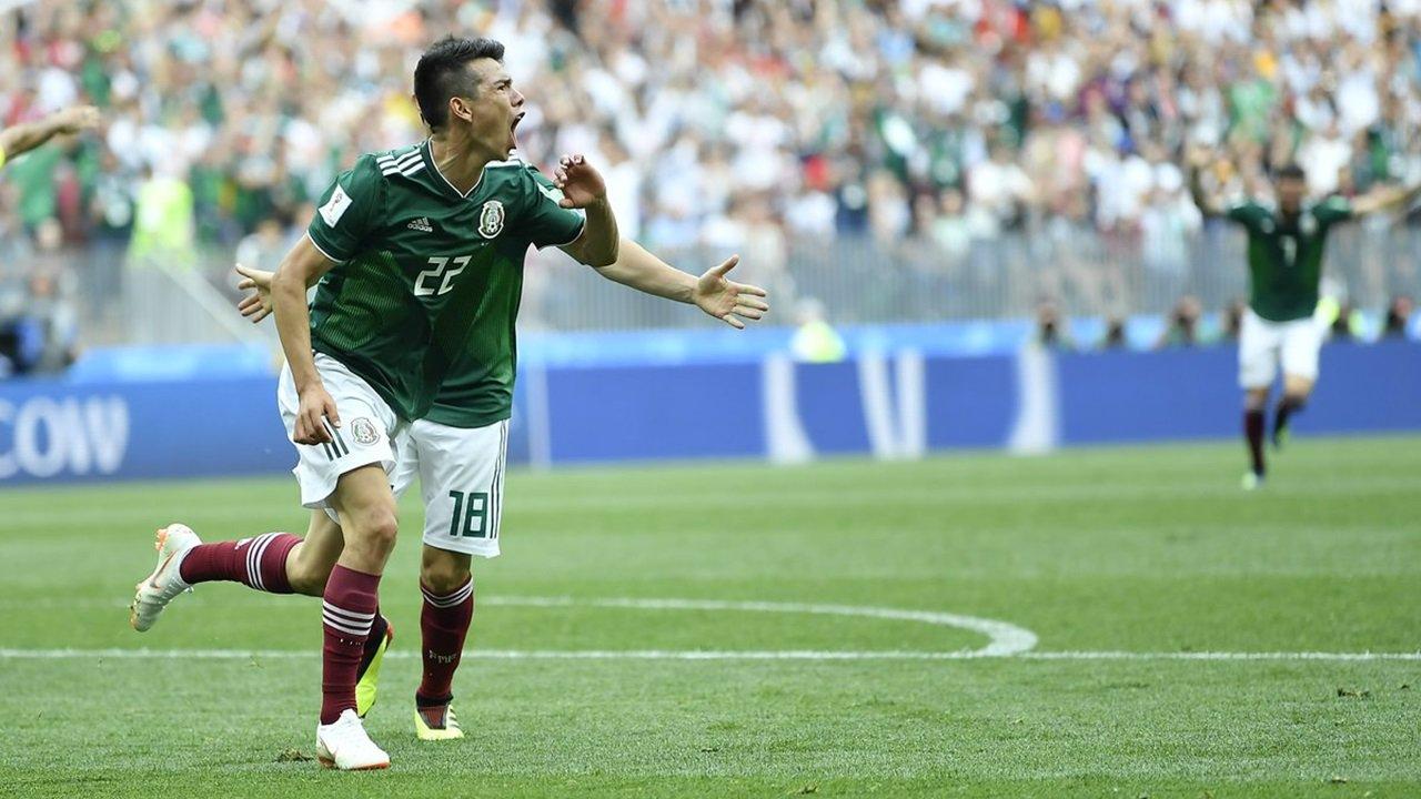 México da la sorpresa en Moscú derrotando a Alemania