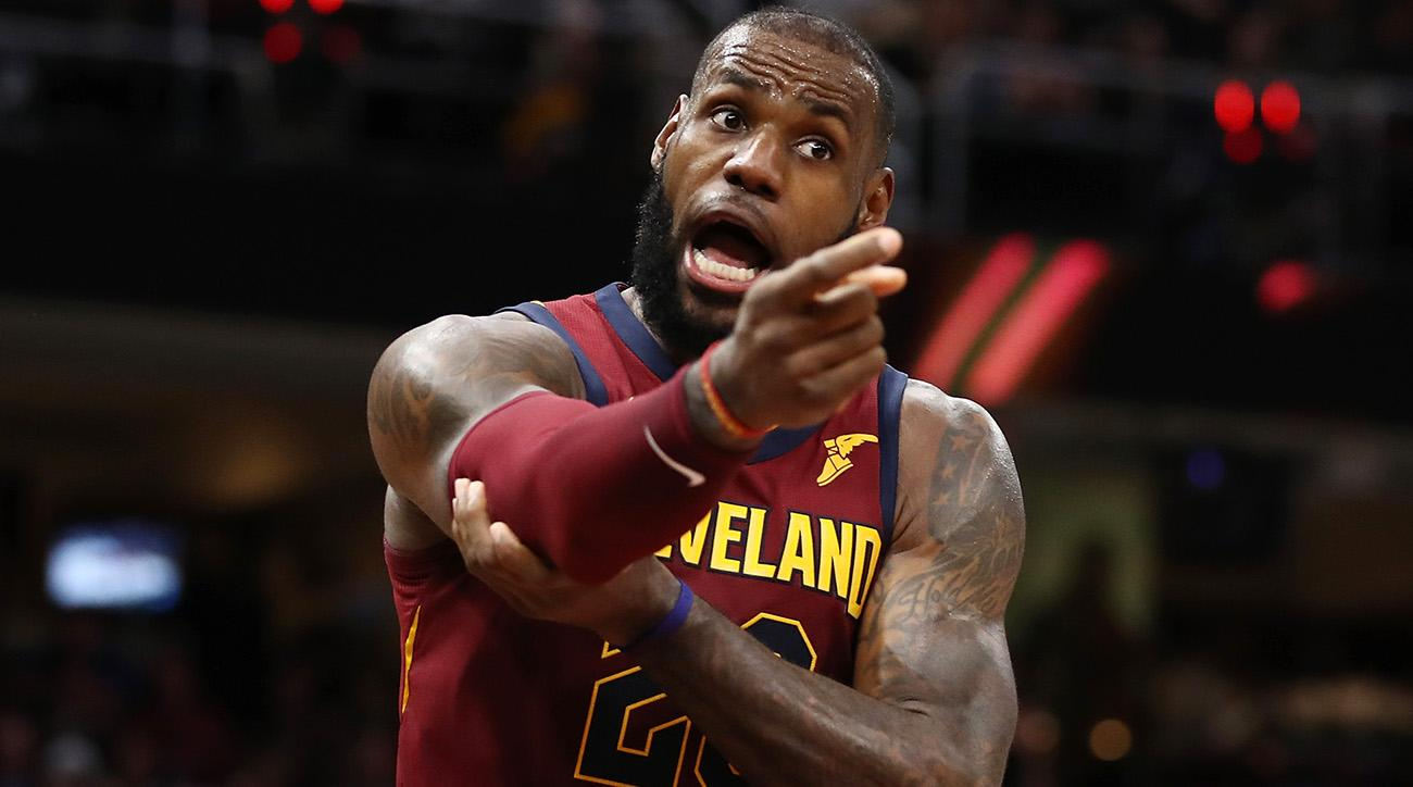 Rumors swirling over LeBron wanting to be in L.A.