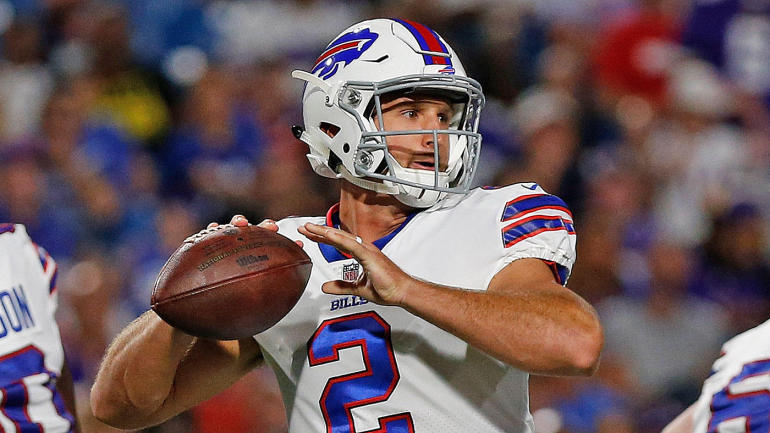 Nathan Peterman has a real chance to win the Bills' QB job