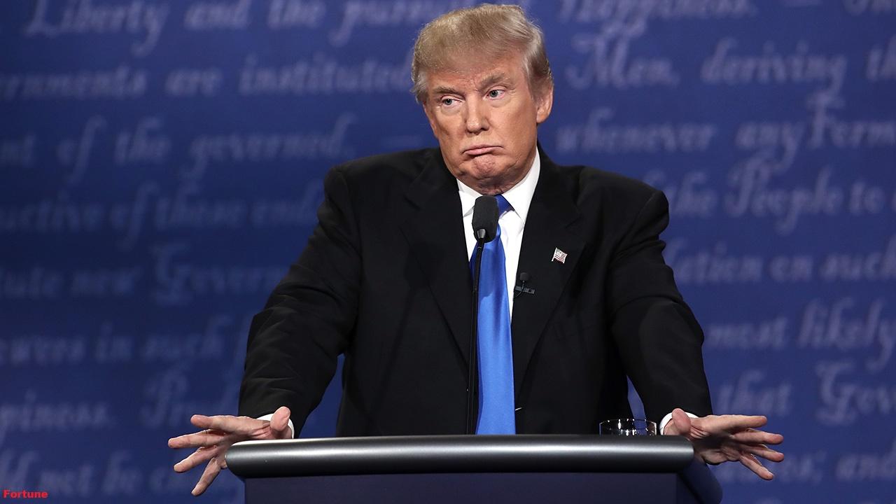 Resultado de imagem para Trump mostra descontentamento