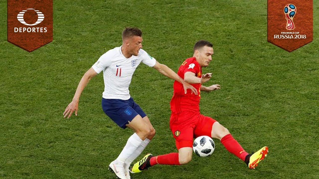 Inglaterra perdió con Bélgica y jugará ante Colombia