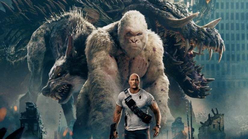 'Rampage' box office collections create records