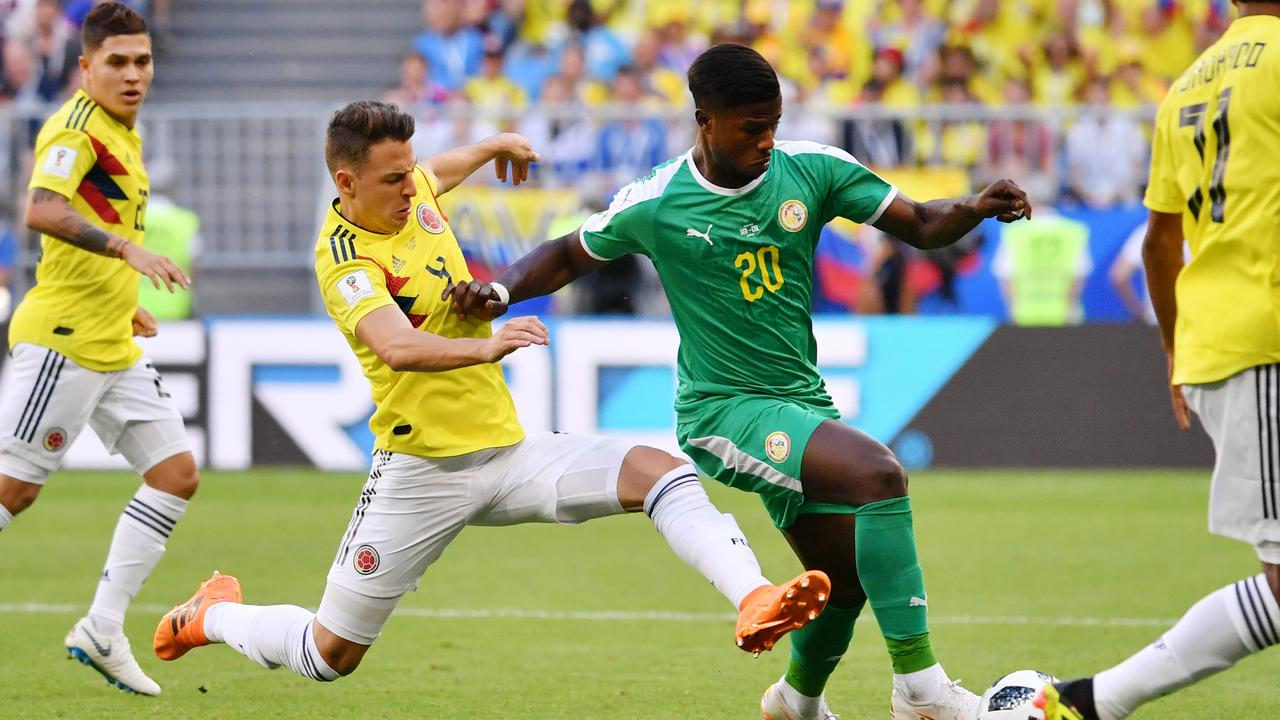 La Colombie vient à bout du Sénégal et passe première dans le groupe H