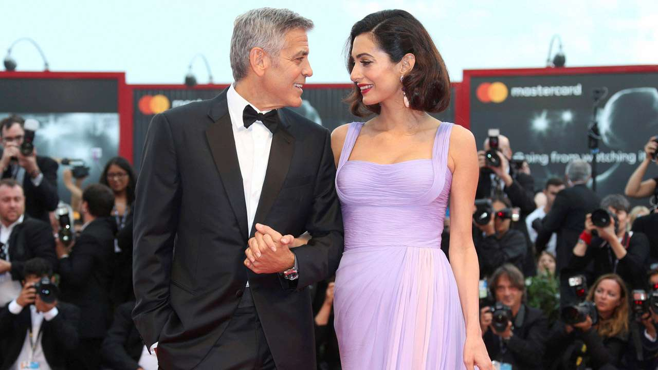 Amal Clooney habla sobre su experiencia como refugiada