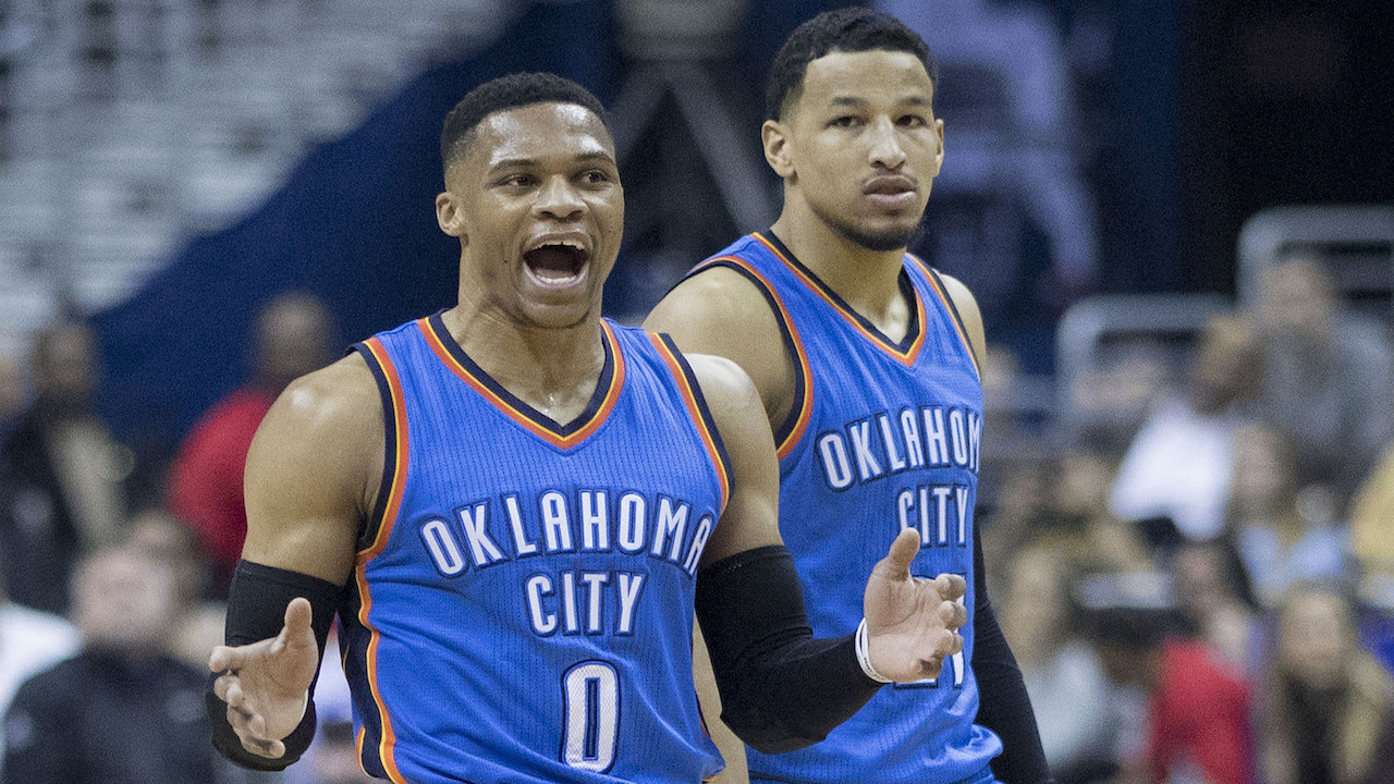 OKC Thunder star Russell Westbrook hosting party with Paul George in town