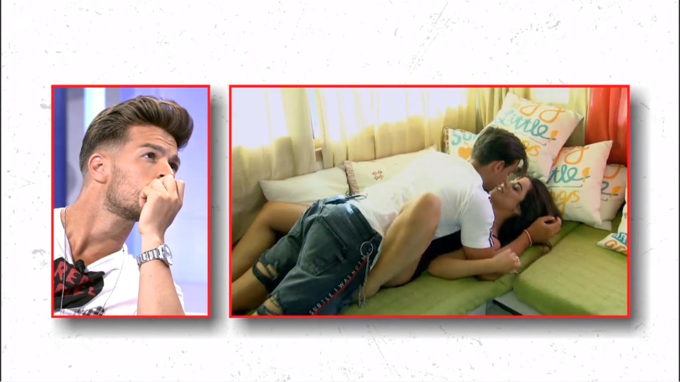 MYHYV: David dice que la cita sin cámaras de Violeta y Pedro le produjo asco
