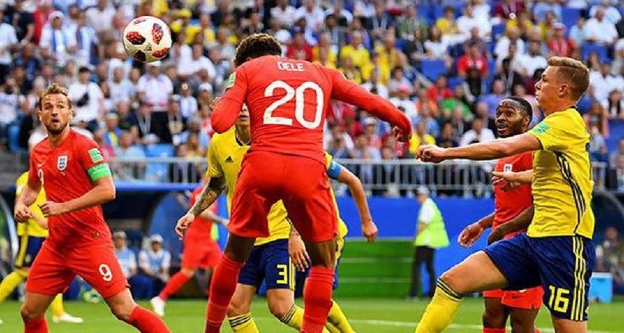 Mundial de Rusia: Inglaterra vence a Suecia