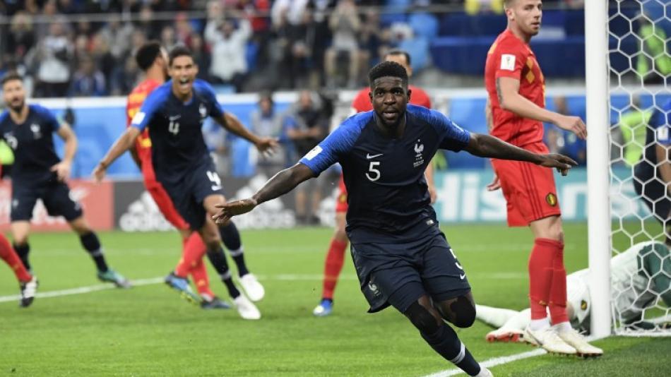 Francia vs Bélgica: 'Galos' vencieron 1-0 y avanzaron a la final del Mundial