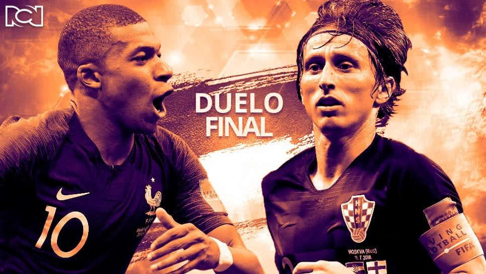 Francia vs Croacia: La final de las grandes diferencias