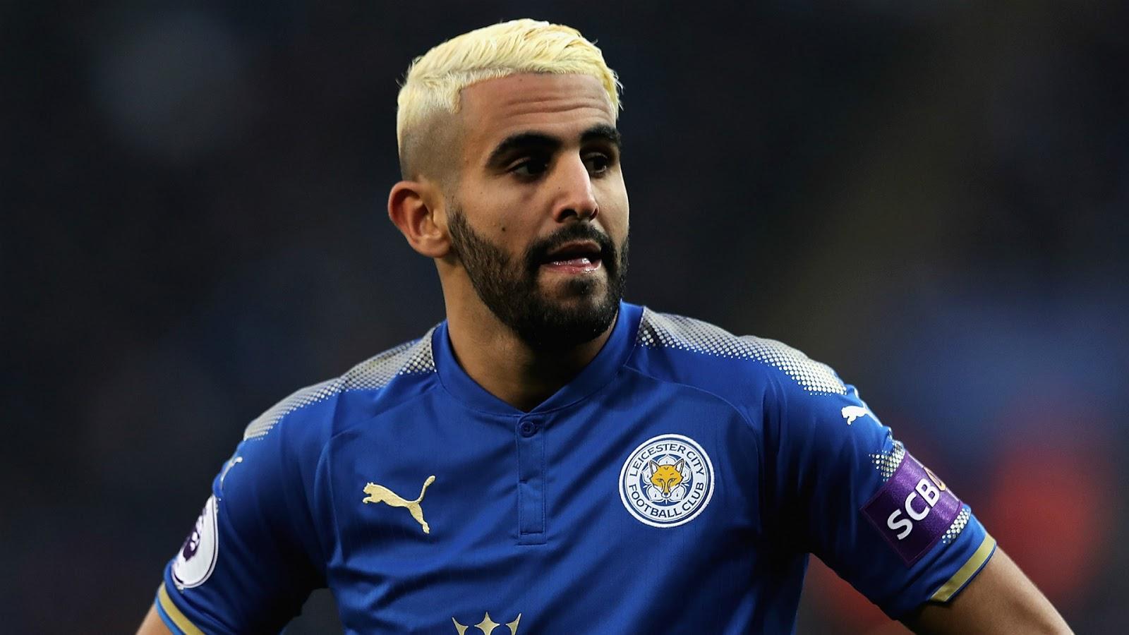 Riyad Mahrez jugará en el Manchester City