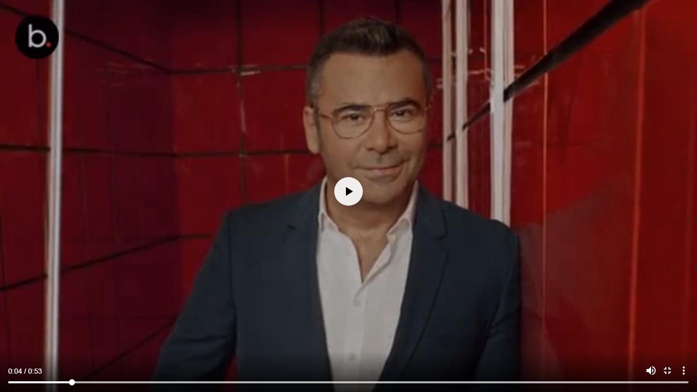 Jorge Javier Vázquez confiesa utilizar la app Grindr para conseguir citas