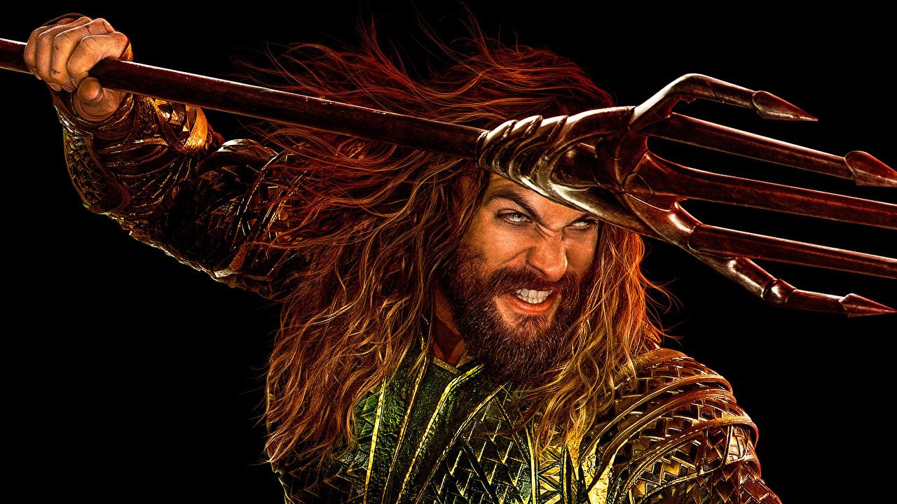 Revelan espectacular póster con Jason Momoa como 'Aquaman'
