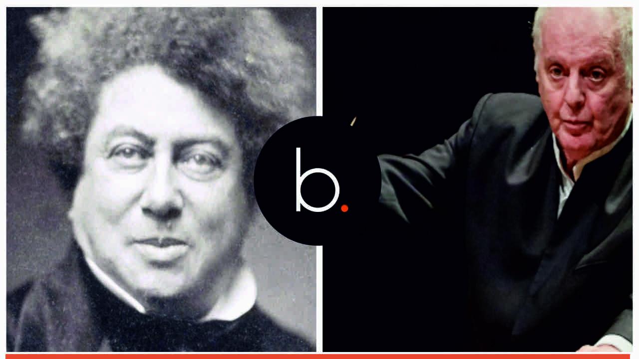 Alejandro Dumas y Daniel Barenboim dos creadores  que destacan hoy en twitter