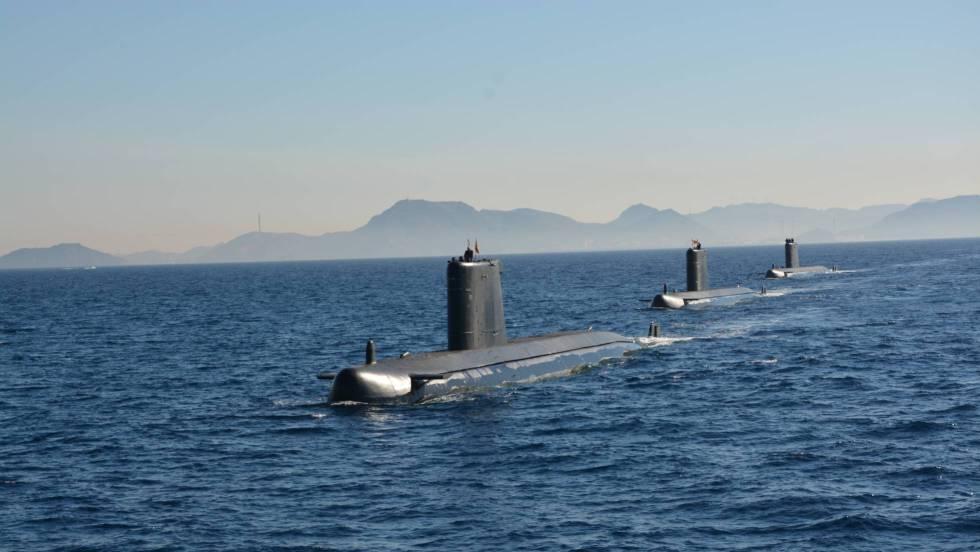 La longitud del muelle de Cartagena para el S-80