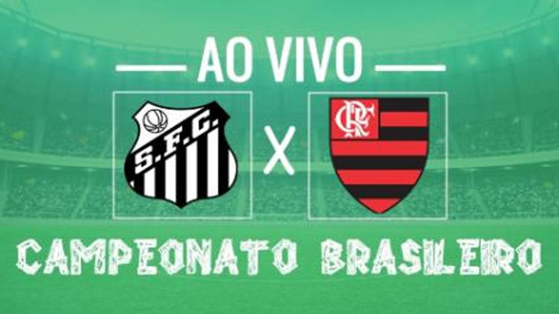 Santos x Flamengo: transmissão do jogo ao vivo às 21h45, vídeo