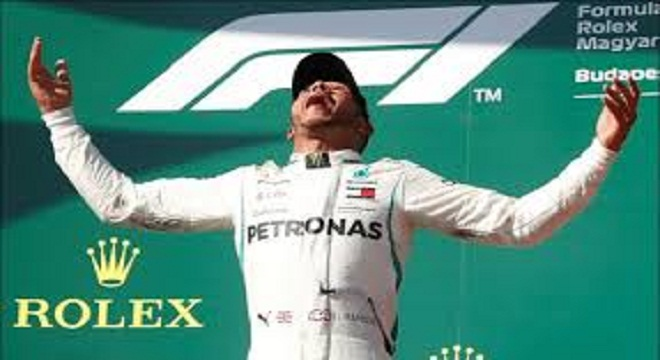 VIDEO: Hamilton se corono en el GP de Hungría