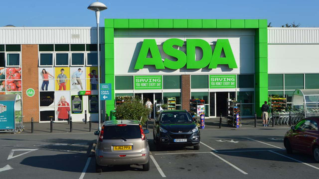 Woman rescues baby from hot car outside Asda supermarket