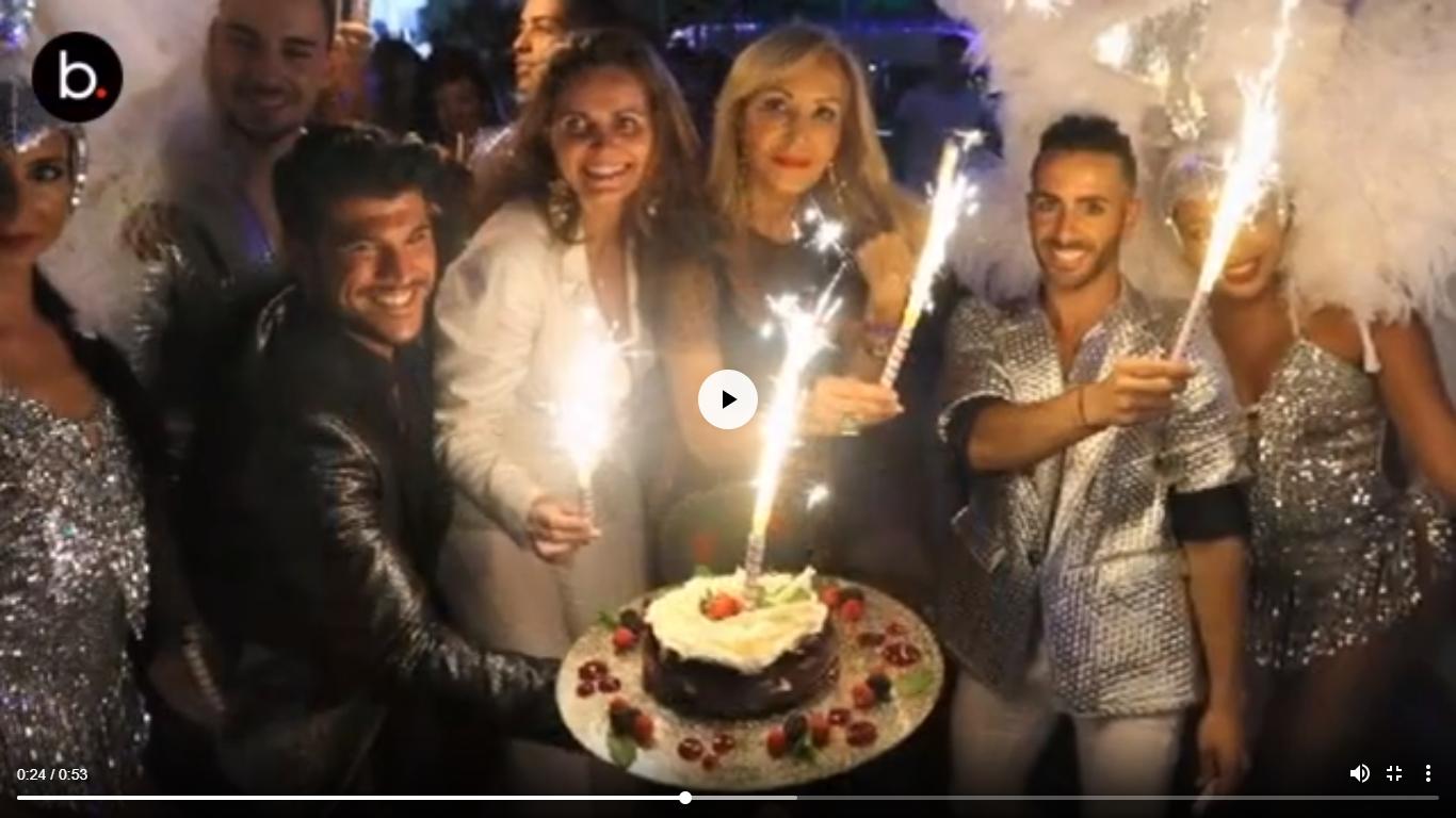 Carmen Lomana festeja su cumpleaños en Marbella