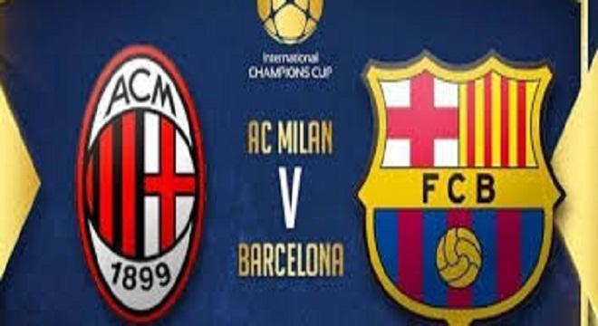 VIDEO: Barcelona pierde 1-0 ante el AC Milan en su último partido amistoso