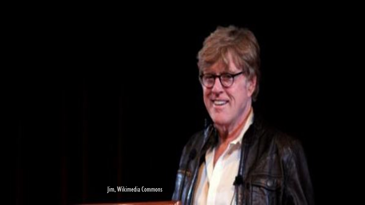 Robert Redford the famous actor in Butch Cassidy And The Sundance Kid retires