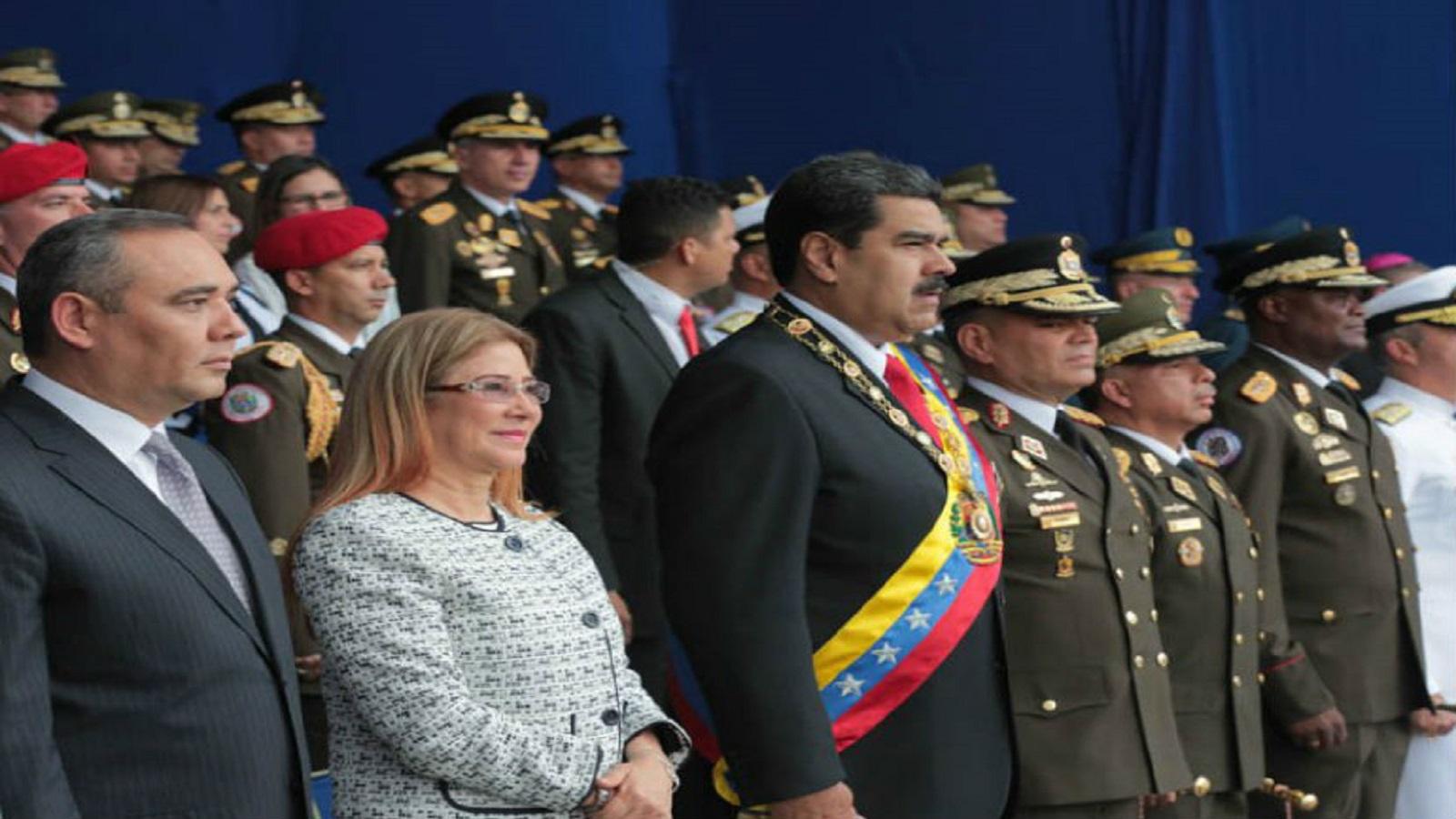 VIDEO: Atentado frustrado contra Nicolás Maduro mientras pronunciaba un discurso