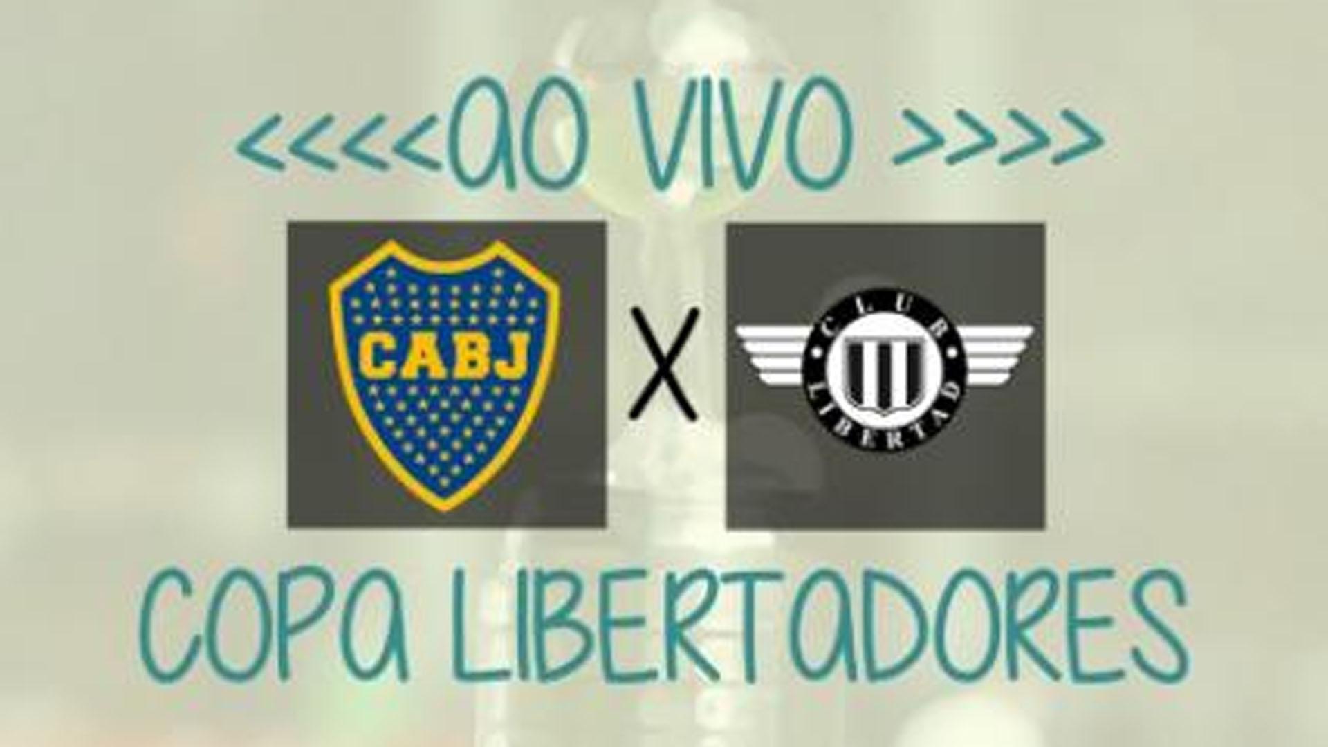 Boca Juniors x Libertad: transmissão ao vivo