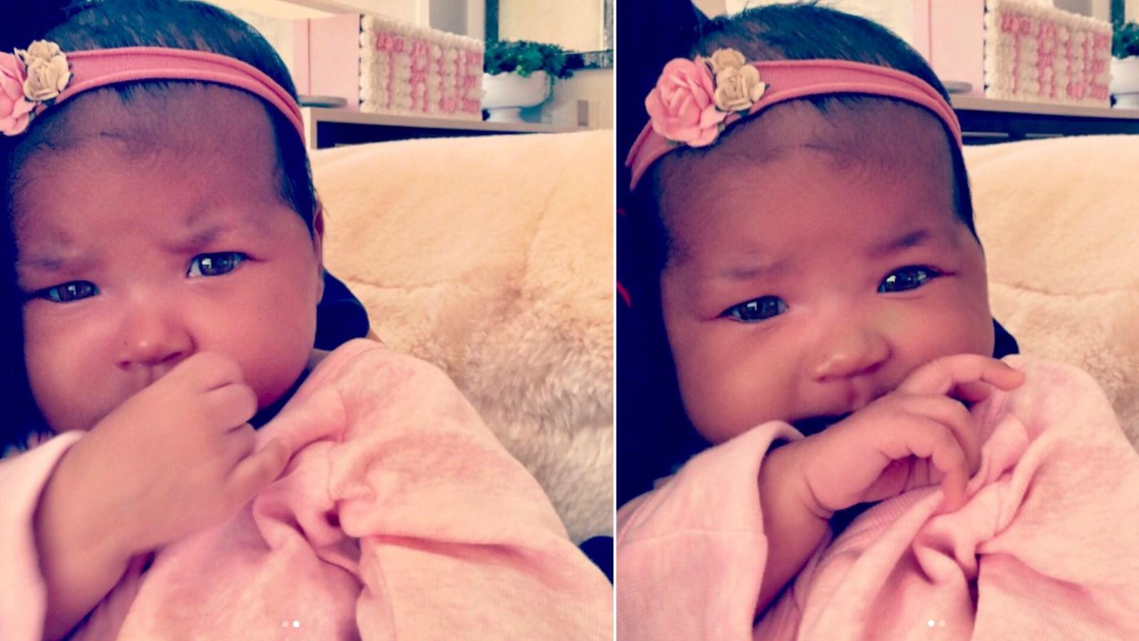 VÍDEO: Khloé presume de su bebé con tiernas fotos para sus fans