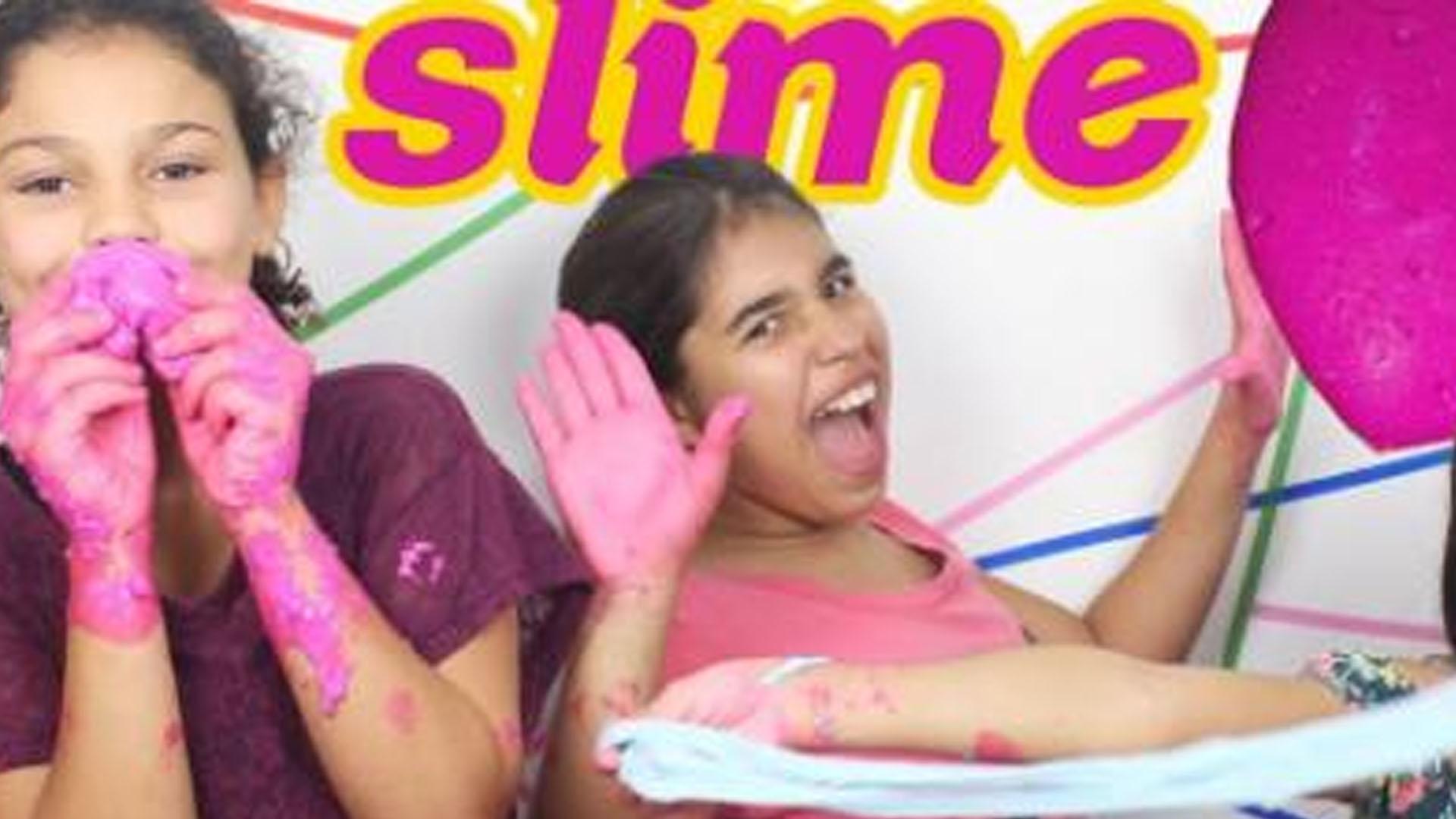 Criançada sai da internet nas férias para curtir a gosmência do Slime