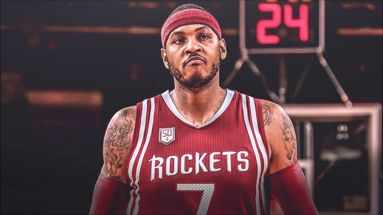 Houston Rockets sign Carmelo Anthony to one-year deal