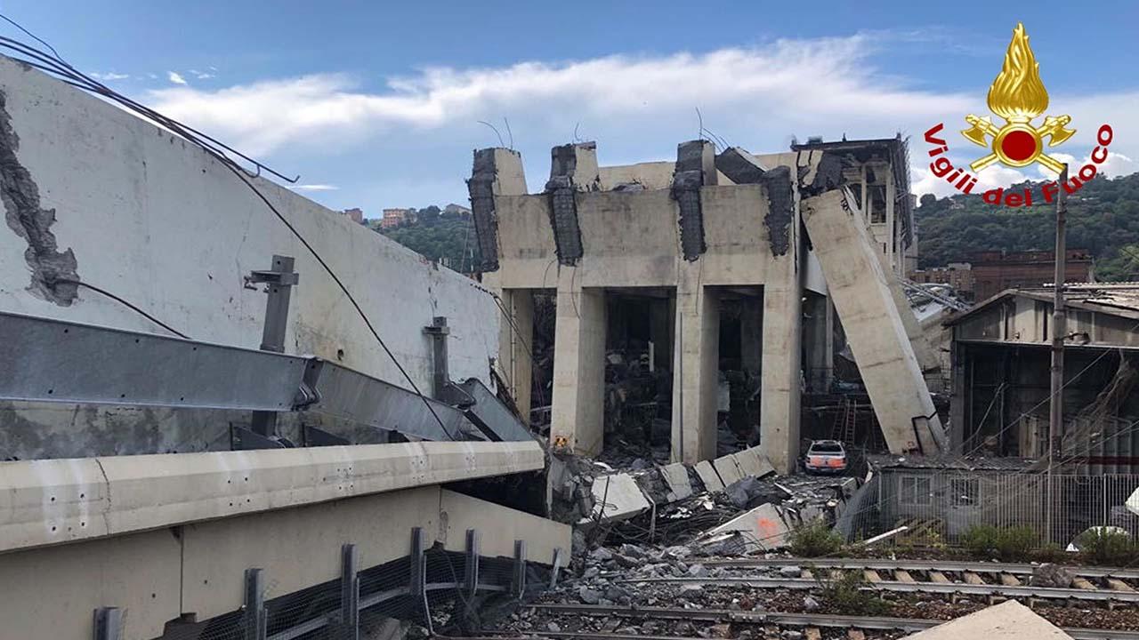 Genova, il bilancio provvisorio si aggrava: 39 morti e 16 feriti